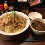 デカ盛り・肉盛りつけ麺!湯島「六代目けいすけ」で肉トリプル・麺大盛り!