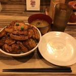 デカ盛り豚丼!水道橋「豚や 西神田店」で特上霧島豚・大盛り・肉増し!