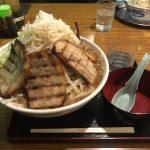 柏デカ盛りラーメン!「優勝軒」でふじ麺・特盛・野菜増し・炙りチャーシュー!
