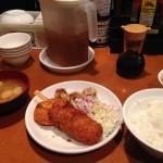 【閉店】さくら水産で激安500円ランチ!ご飯、味噌汁、生卵が食べ放題!