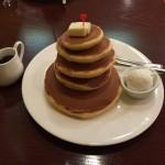 東京巨大パンケーキ!浅草「喫茶ミモザ」でビッグホットケーキ!