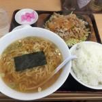 中野区デカ盛り!東中野「大盛軒」のビッグ鉄板麺は、肉・ライス・麺すべて大盛り!