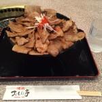 江戸川区メガ盛りランチ!西葛西「焼肉 おもに亭」でメガ豊熟もち豚丼!