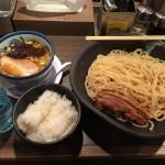 秋葉原メガ盛り!「ばんから」でメガつけ麺+角煮+大盛りご飯!