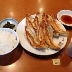 東京デカ盛り有名人気店!!「銀座 天龍」巨大餃子ライス!!