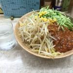 台東区浅草橋デカ盛り!「熊公(くまこう)」でジャージャー麺大盛り!