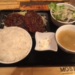 山形牛100%メンチカツ定食!「新日本焼肉党 東日本橋店」でランチ!