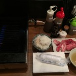 立ち食い焼肉!神田「江戸牛」で数量限定切り落としランチ!ご飯・スープおかわり自由!