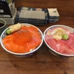 海鮮丼ランチ!「磯丸水産 秋葉原店」で大盛りまぐろ・サーモン・イクラ丼!