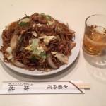 五反田デカ盛り!中華料理「梅林(めいりん)」で肉ソース焼きそば大盛り!