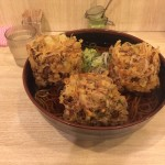 品川デカ盛り朝食!「吉利庵」で大盛りそば・かき揚げトリプル!