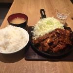 デカ盛り!特大500gトンテキ定食!「東京トンテキ ヨドバシAKIBA店」で巨大グルメ!