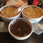 船堀デカ盛り!「多久味(たくみ)」でにぼしのつけ麺大盛り・麺増量1kg!