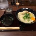 神田「一福(いっぷく)」!香川・讃岐うどんの超有名人気行列店で釜玉バター大盛り!