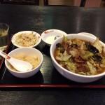 大門デカ盛り!「桂園(けいえん)」でホイコーロ麺定食ランチ・大盛り!