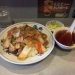 三田デカ盛り!「亀喜(かめき)」が休みだったため、近くの中華料理を食べ歩きしてみました!【後編:杏花園】