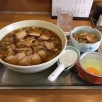 永福町デカ盛り!「大勝軒」でチャーシューメン(中華麺)!生玉子・メンマ!