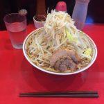 【閉店】西早稲田デカ盛り!「用心棒Ⅱ階(2階)」でラーメン大盛り・豚あり・野菜マシ!