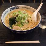 """北海道ラーメン!神田「東京 味源」で""""麺2倍""""みそでっかいどう大盛り!"""