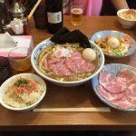 中野大盛りラーメン!「鈴蘭」で特製煮干しそば+チャーシュー+炊き込みご飯!