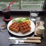 秋葉原朝食カフェ!「エール・エル・ワッフルカフェ」でモーニング&ギネスビール!