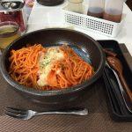 【閉店】馬喰町大盛りパスタ!「東京にぎりめし米専」でチーズナポリタン!