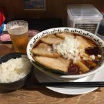 締めの大盛りグルメ!錦糸町「野郎ラーメン」で竹岡式肉醤油そば!