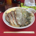 木場デカ盛り!「ラーメン麺徳」で豚入り汁なし大盛り(生玉子付き)!