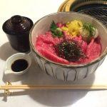 神田生肉ランチ!「肉の匠 将泰庵 新日本橋店」で飲めるハンバーグ&和牛鉄火丼大盛り!