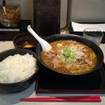 【閉店】秋葉原大盛りグルメ!「麺屋ここいち カレーらーめん」で肉そば・大ライス!