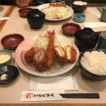 錦糸町おかわり自由!「とんかつ いなば和幸」でバラエティ定食!