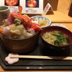 デカ盛り海鮮丼ランチ!神田「すし定(すしさだ)」でちらし大盛り!東京一安い!