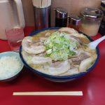 浅草デカ盛りラーメン!「弁慶本店」で味噌チャーシュー麺ダブル・大盛り!