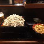 【閉店】激安エビスビール150円!人形町「はせ川」で2枚盛りそば&かき揚げ丼!24時間営業!