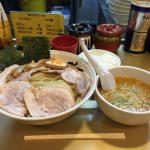 亀戸メガ盛り!「超ごってり麺 ごっつ」でチャーシューつけ麺大盛り!