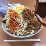 【神保町へ移転】デカ盛りグルメ!御茶ノ水「立川マシマシ」で汁なし麺・大盛り・野菜マシ!
