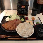東京行列グルメ!「浅草 牛かつ」で麦飯とろろセット・260g・大盛り!超有名人気店!