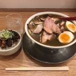 八丁堀ラーメン!「七彩(しちさい)」で喜多方肉そば・煮干し・大盛り!