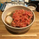 東京オススメ蕎麦!人形町「福そば」で天玉そば大盛り・紅生姜天・野菜かき揚げ!