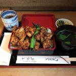 デカ盛り焼き鳥丼ランチ!人形町「おが和」でやきとり重・ご飯大盛り・肉増し!