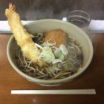 真夜中・早朝グルメ!「そば千 東神田店」でビックリ海老天蕎麦・大盛り!