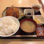 神田ワンコインランチ!「かぶき」で特大いわしフライ定食!早い・安い!