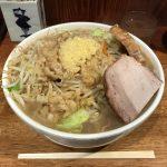 飯田橋デカ盛り!「大勝軒」で大豚麺!にんにく・背脂・野菜ラーメン!