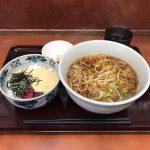秋葉原立ち食いそば!「みのがさ 神田和泉町店」で山かけ丼セット・大盛り!