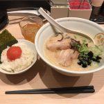 東京朝ラーメン!品川「TOKYO豚骨BASE MADE by 博多一風堂」で特濃白・明太子ご飯!