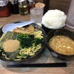 【閉店】神田深夜ラーメン!「魂心家」で魚介豚骨つけ麺!ライス無料・おかわり自由!