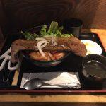 行列焼肉ランチ!日本橋「高屋敷肉店」でカブリつきステーキ丼・大盛り!