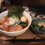 三越前ラーメン!「日本橋 製麺庵 なな蓮(ななはす)」で支那そば・大盛り・特製トッピング!
