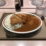 東京駅激安カレー!「アルプス」で特盛チキンカツカレー!タイムサービス!