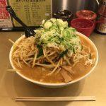 デカ盛りカレーラーメン!「ごっつ 秋葉原店」で麺2倍・超大盛りもやし!